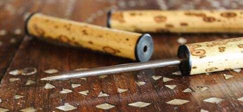 Mottled Bamboo Pu'er Needle