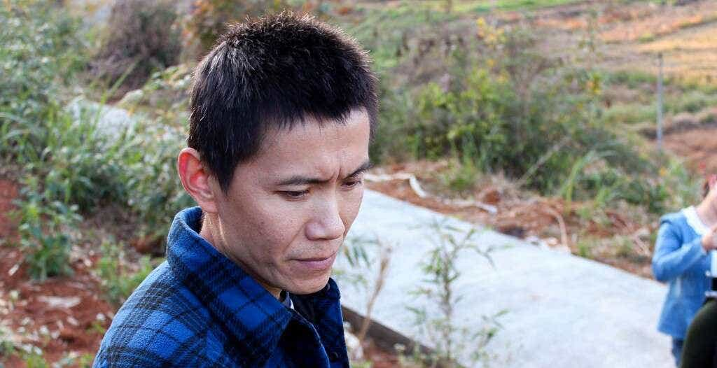 Mr. Li, Li Xiangxi's brother, oversees the family's oolong production