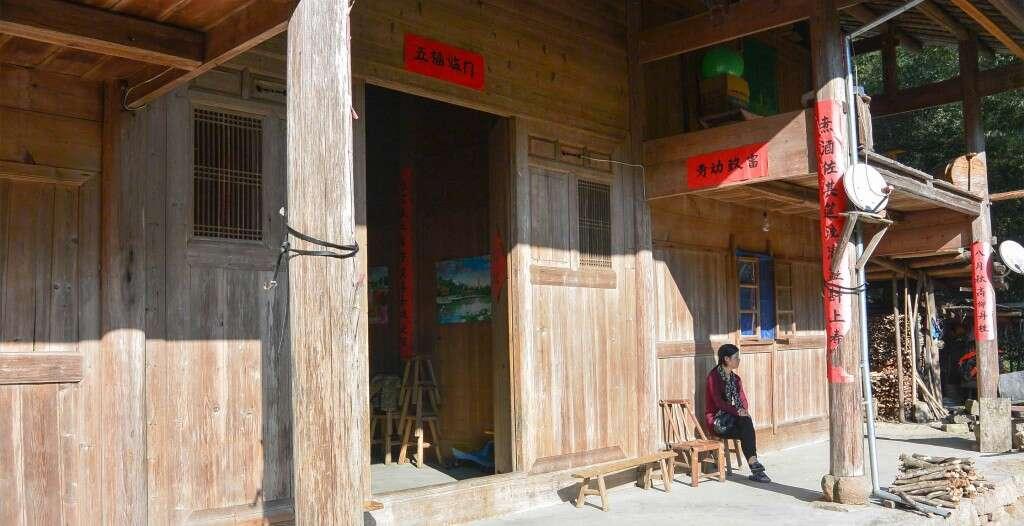 Li Xiangxi's family home and workshop in Tongmu