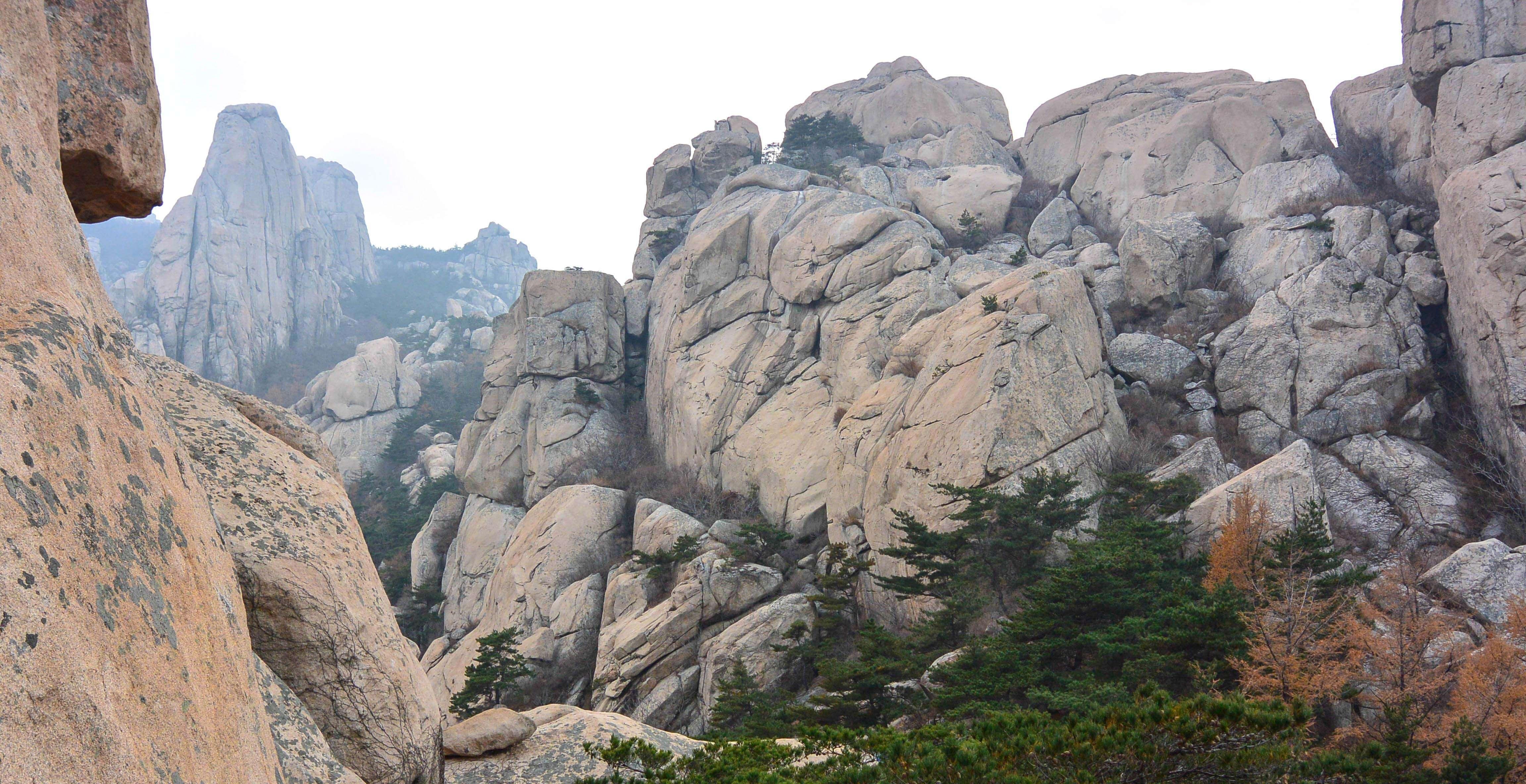Laoshan's Mountain Peaks