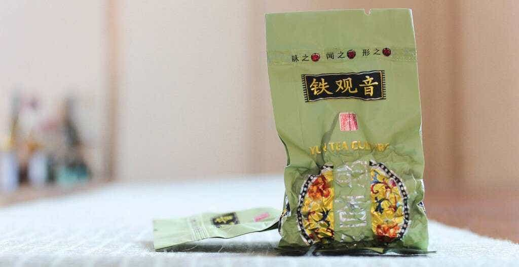 Master Zhang's 2016 Spring Reserve Tieguanyin is pre-packed into individual 5 gram single serving sizes.