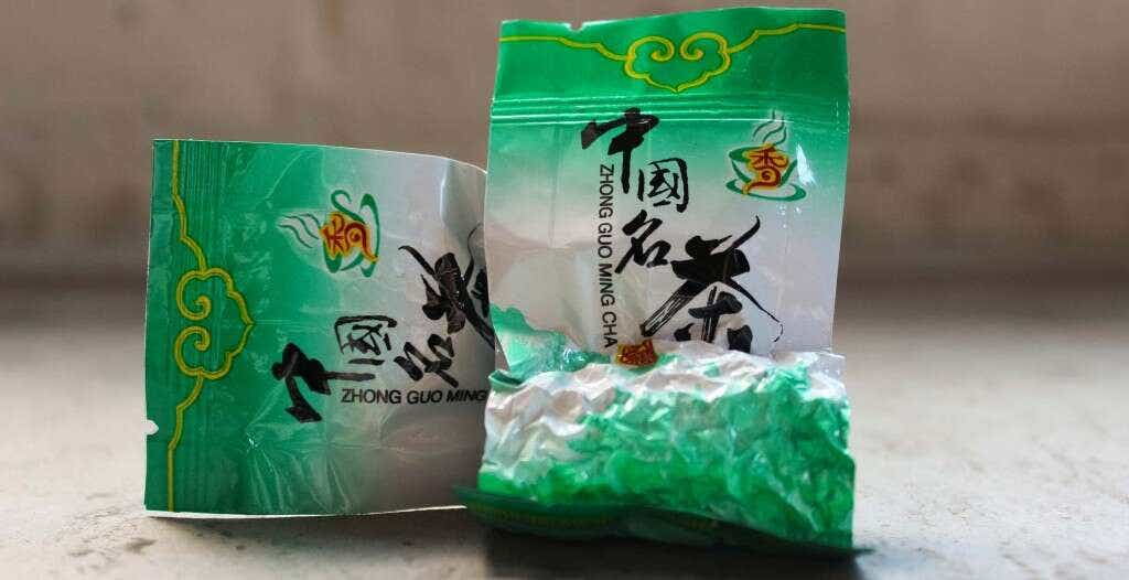 Master Zhang's Traditional Anxi Ruan Zhi is pre-packed into individual 5 gram serving sizes.