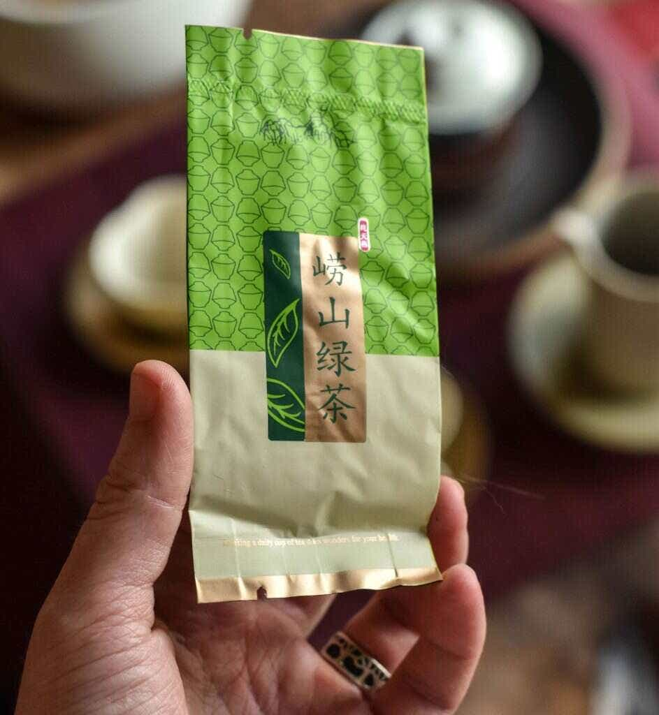 This tea comes pre-packaged in individual 5g portions.