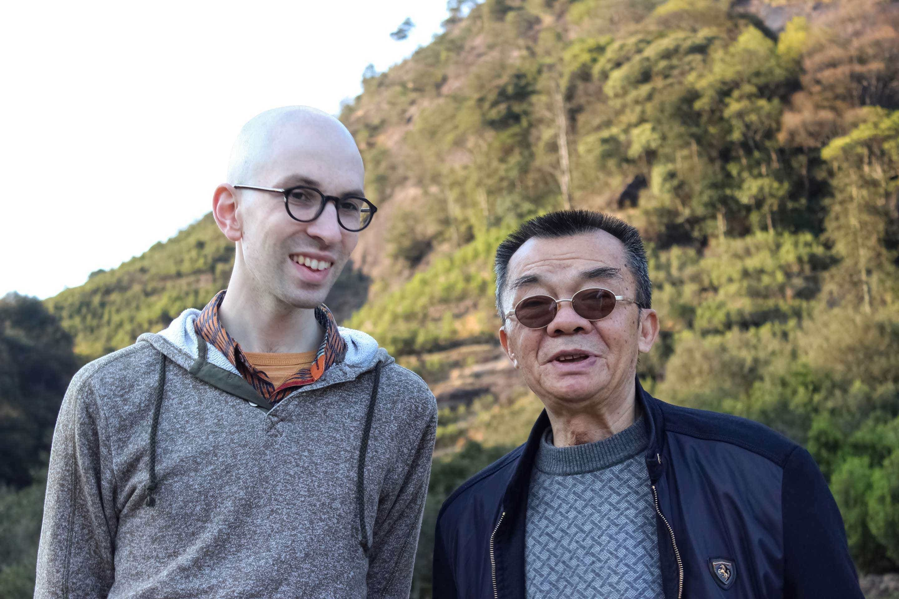 David Duckler and Huang Ruiguang