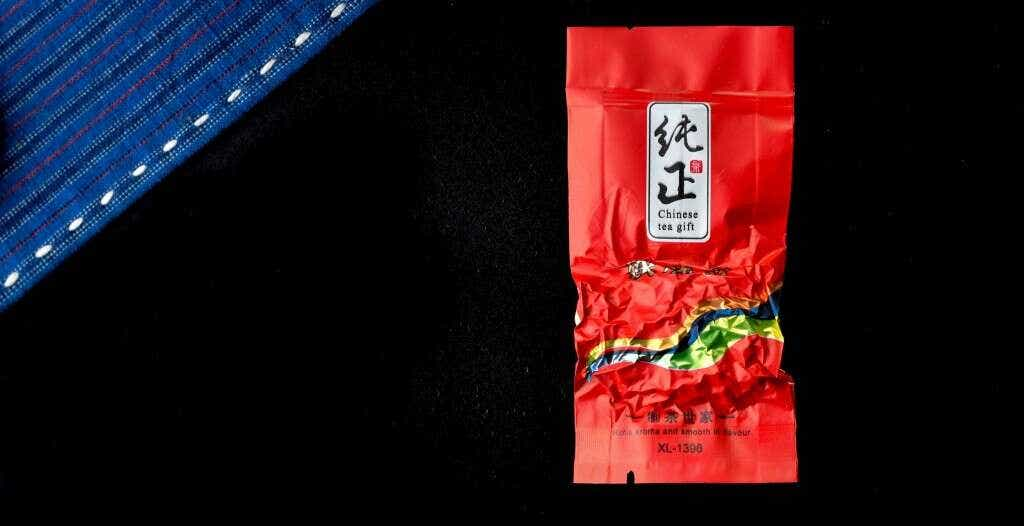 Master Zhang's Hua Xiang Qing Xiang Tieguanyin is pre-packed into individual 5 gram single serving sizes.