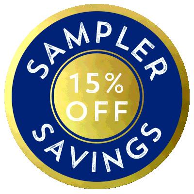 Save 15% on this bundled tasting kit