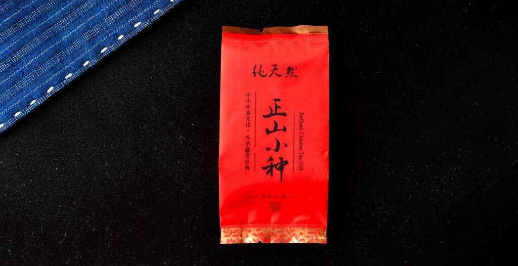 The Liu family's Tieguanyin Xiao Zhong is pre-packed into individual 5g portions of tea.