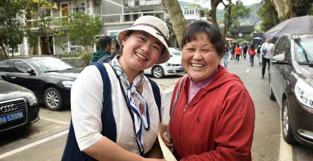 Verdant founder Wei Wei Ren and Li Xiaoping