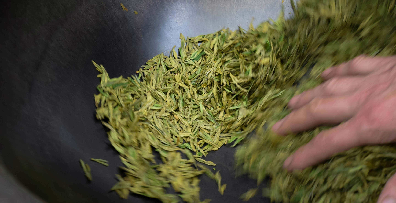 Shui Huamin hand-fires fresh spring tea
