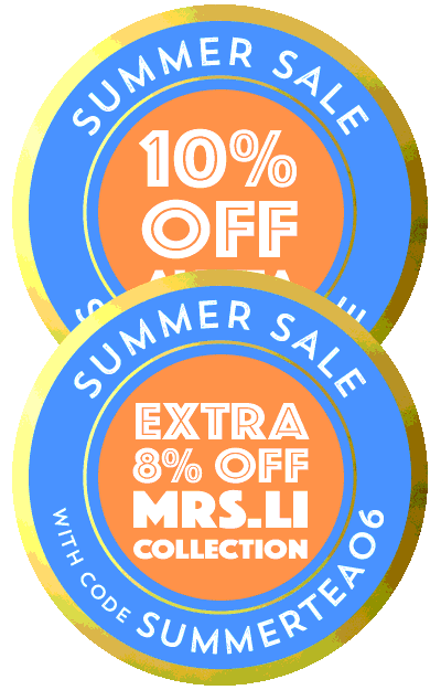 Summer Sale: 10% off all tea + Extra 8% off Mrs. Li's Dragonwell Tea with coupon SUMMERTEA06