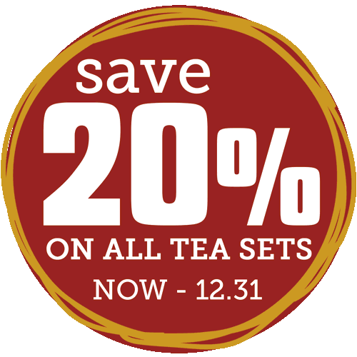 Holiday Savings: 20% off all tea sets!