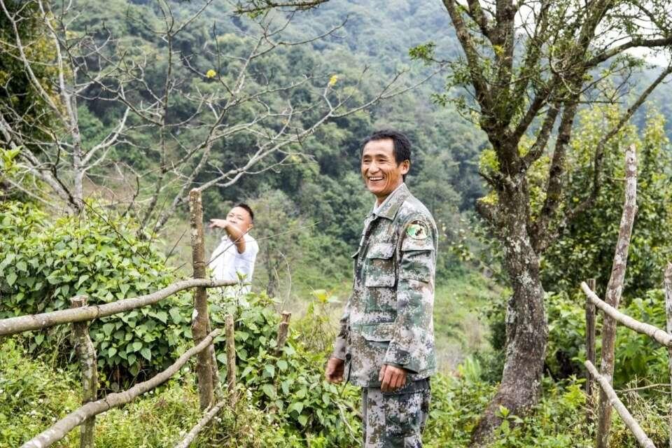 Ailaoshan Environmental Conservation Officer Mr Li; photo / caption credit: Shao Hongyan
