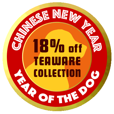 Chinese New Year Sale: 18% off all teaware!