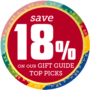 Gift Guide Sale! 18% off our top picks.