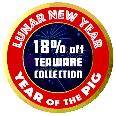 Save 18% on teaware until 03.03.19