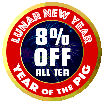 Save 8% on all tea through 03/03/19