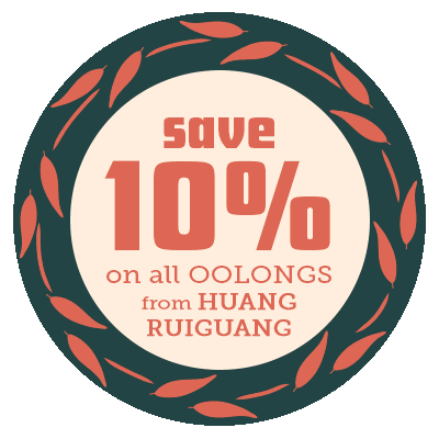 Save 10% on every Dancong Oolong from Huang Ruiguang