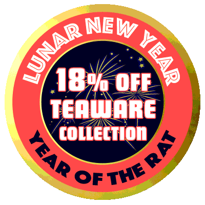 Save 18% on all teaware during our Lunar New Year celebration!